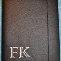 Caris-Taschen, personalisierte Geschenke, Blockhüllen