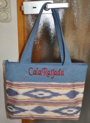 CARIS Taschen, Cala Ratjada Mallorca-Stoff