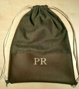 CARIS-Taschen - Turnbeutel mit Initialen