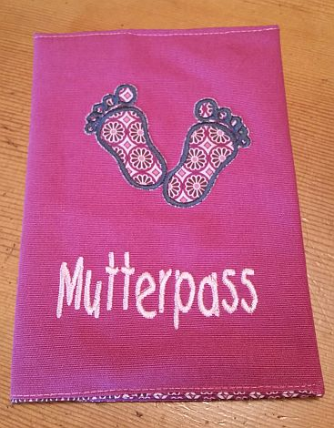 CARIS Nähwerkstatt - personalisierte Geschenke, Hülle für Mutterpass