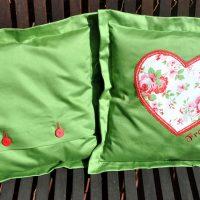 Caris-Taschen, personalisierte Geschenke, Kissen