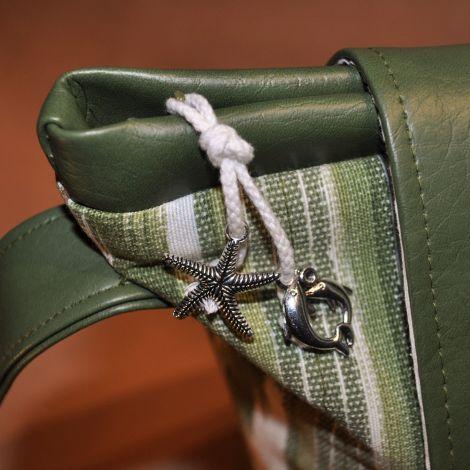 CARIS Taschen - personalisierte Handtasche aus Mallorca-Stoff