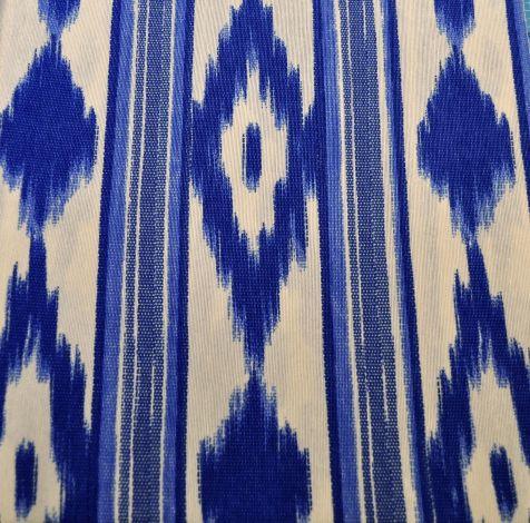 CARIS Naehwerkstatt - Mallorca-Stoff blau