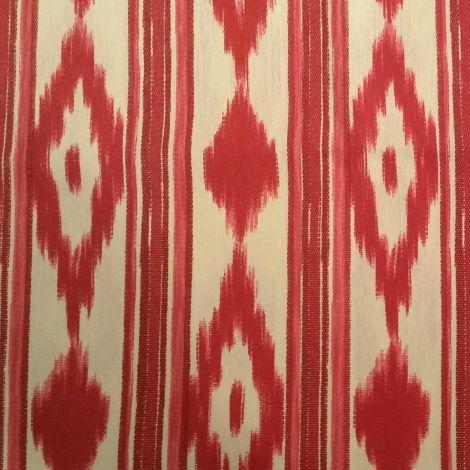 CARIS Naehwerkstatt - Mallorca-Stoff rot