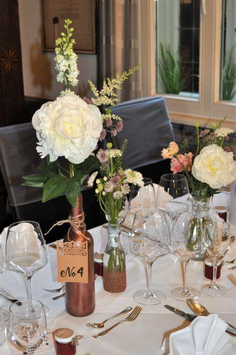 CARIS Nähwerkstatt - Hochzeit - Tischdeko