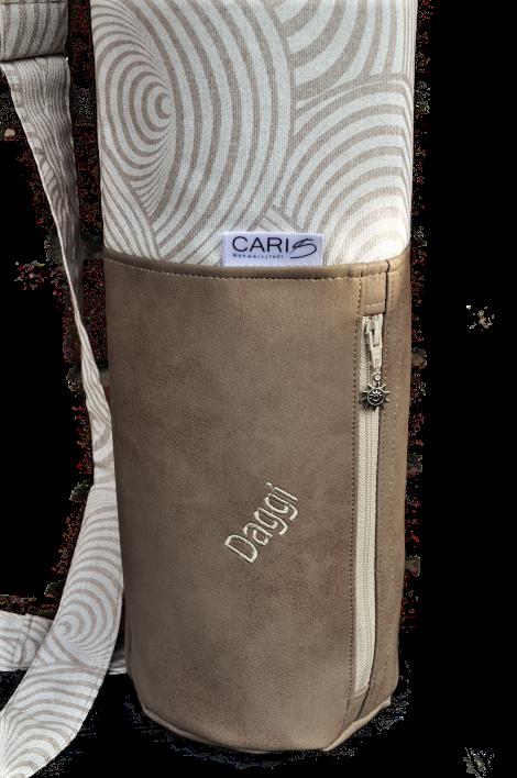 CARIS Nähwerkstatt - personalisierte Yoga-Tasche
