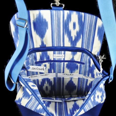 CARIS Nähwerkstatt - Mallorca-Tasche mit Initialen
