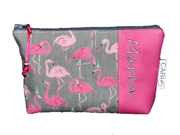 CARIS Taschen - personalisierte Schminktasche mit Namen
