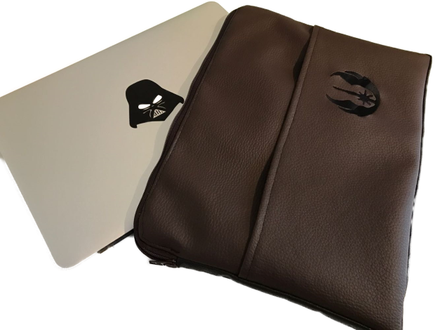CARIS Taschen - MacBook-Tasche mit Star Wars-Stickerei