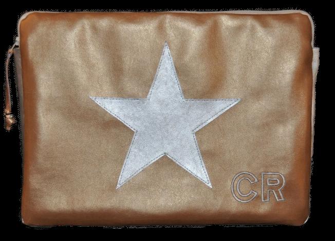 CARIS Taschen - Laptoptasche mit Initialen