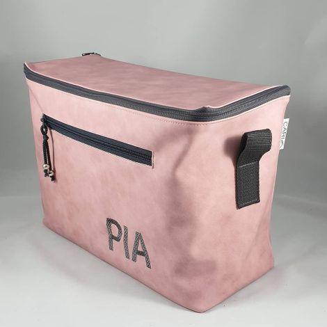 CARIS Nähwerkstatt - personalisierte Kulturtasche extra groß