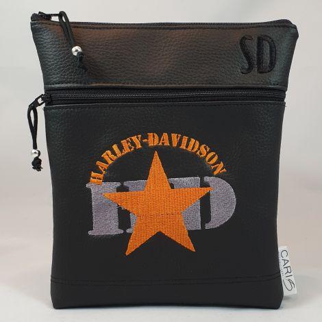 CARIS Nähwerkstatt - Gürteltasche für Biker - Harley Davidson