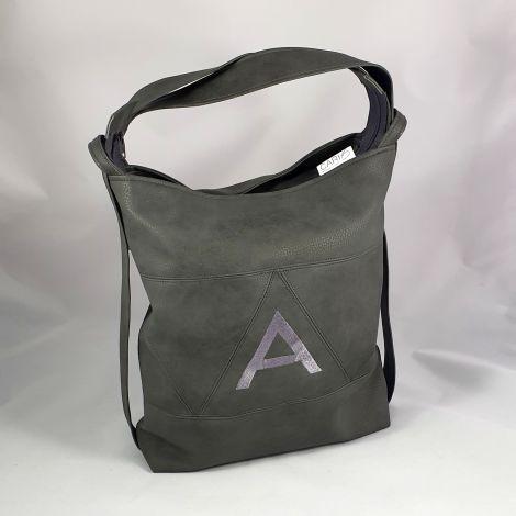CARIS Taschen - personalisierter Handtaschenrucksack mit Monogramm